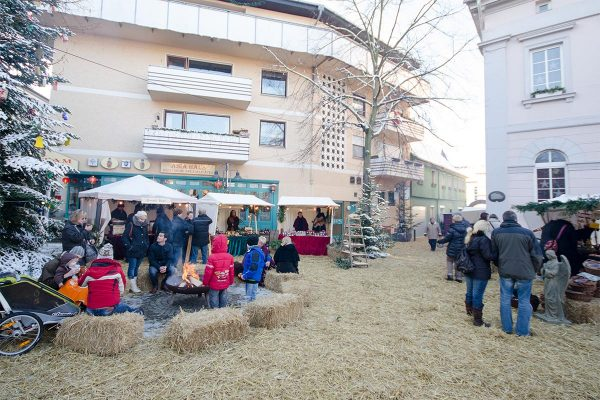 Nikolausmarkt: Marktplatz