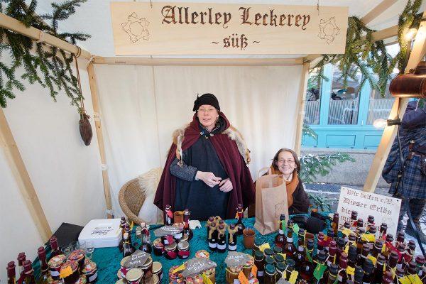 Nikolausmarkt: Allerley Leckerey - süß