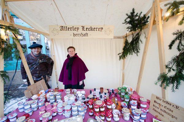 Nikolausmarkt: Allerley Leckerey - herzhaft
